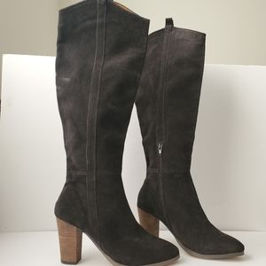 DOLCE VITA Kylar Suede Knee High Boots Brown 8.5
